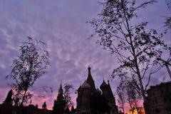 Καθεδρικός ναός βασιλικών Αγίου στη Μόσχα Στοκ Φωτογραφίες