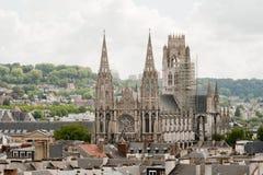 καθεδρικός ναός Γαλλία Ρ Στοκ Φωτογραφίες