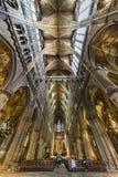 καθεδρικός ναός γοτθικό & Στοκ Εικόνα