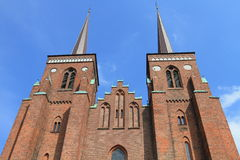 καθεδρικός ναός Δανία Ρόσ&kap Στοκ φωτογραφίες με δικαίωμα ελεύθερης χρήσης