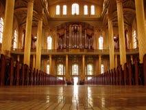 καθεδρικός ναός ΙΙ εσωτ&ep Στοκ Φωτογραφία