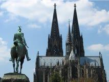 καθεδρικός ναός Κολωνία Στοκ Εικόνα
