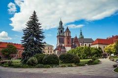 καθεδρικός ναός Κρακοβία Πολωνία wawel Στοκ Εικόνα