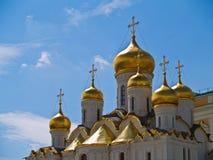 καθεδρικός ναός Κρεμλίνο Μόσχα Ρωσία Στοκ Εικόνες