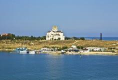 καθεδρικός ναός Κριμαία Ά&gamm στοκ φωτογραφία