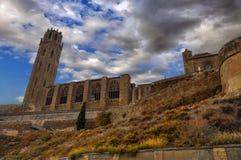 Καθεδρικός ναός Λα Seu Vella Lleida, Ισπανία στοκ φωτογραφίες