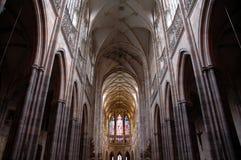 καθεδρικός ναός μέσα Στοκ Φωτογραφία