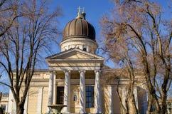 Καθεδρικός ναός μεταμόρφωσης στην Οδησσός, Ουκρανία Στοκ φωτογραφία με δικαίωμα ελεύθερης χρήσης