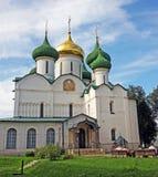 Καθεδρικός ναός μεταμόρφωσης στο Σούζνταλ, Ρωσία Στοκ εικόνα με δικαίωμα ελεύθερης χρήσης