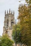 Καθεδρικός ναός μοναστηριακών ναών της Υόρκης, Υόρκη Αγγλία UK Στοκ φωτογραφία με δικαίωμα ελεύθερης χρήσης