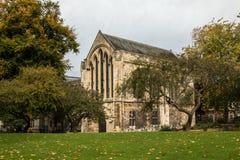 Καθεδρικός ναός μοναστηριακών ναών της Υόρκης, Υόρκη Αγγλία UK Στοκ φωτογραφίες με δικαίωμα ελεύθερης χρήσης