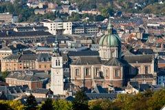 καθεδρικός ναός Ναμούρ τ&omicron Στοκ εικόνα με δικαίωμα ελεύθερης χρήσης