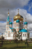 καθεδρικός ναός ορθόδοξ&o Στοκ φωτογραφία με δικαίωμα ελεύθερης χρήσης