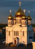 καθεδρικός ναός ορθόδοξ&o Στοκ εικόνα με δικαίωμα ελεύθερης χρήσης