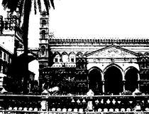 καθεδρικός ναός Παλέρμο διανυσματική απεικόνιση