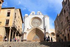 καθεδρικός ναός ρωμαϊκή Ισπανία tarragona της Καταλωνίας Στοκ Εικόνες