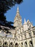 καθεδρικός ναός Σαλίσμπερυ στοκ φωτογραφία με δικαίωμα ελεύθερης χρήσης