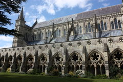 καθεδρικός ναός Σαλίσμπερυ στοκ εικόνες με δικαίωμα ελεύθερης χρήσης