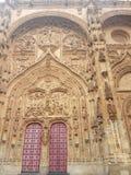 Καθεδρικός ναός Σαλαμάνκας στοκ εικόνες με δικαίωμα ελεύθερης χρήσης