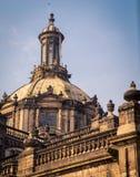 Καθεδρικός ναός στην Πόλη του Μεξικού Στοκ Φωτογραφίες