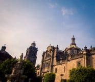 Καθεδρικός ναός στην Πόλη του Μεξικού Στοκ Φωτογραφία