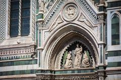 Καθεδρικός ναός στη Φλωρεντία, Τοσκάνη, Ιταλία Στοκ φωτογραφία με δικαίωμα ελεύθερης χρήσης