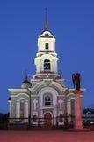 Καθεδρικός ναός στο Ntone'tsk/την Ουκρανία Στοκ εικόνα με δικαίωμα ελεύθερης χρήσης