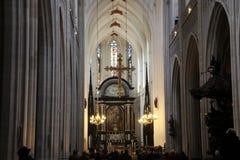 καθεδρικός ναός της Αμβέρ&s Στοκ Εικόνες