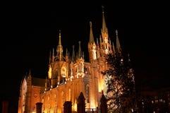 Καθεδρικός ναός της αμόλυντης σύλληψης στοκ φωτογραφία με δικαίωμα ελεύθερης χρήσης
