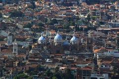 Καθεδρικός ναός της αμόλυντης σύλληψης Cuenca στοκ φωτογραφία με δικαίωμα ελεύθερης χρήσης