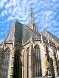 Καθεδρικός ναός της Αυστρίας, Βιέννη, ST Stephen ` s, Stephansdom, κάθετο Στοκ φωτογραφία με δικαίωμα ελεύθερης χρήσης