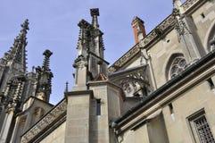 καθεδρικός ναός της Βέρνη&sig Στοκ Φωτογραφίες