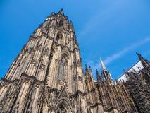 Καθεδρικός ναός της Κολωνίας, μνημείο του γερμανικού καθολικισμού στοκ εικόνα