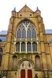 Καθεδρικός ναός της Μπρυζ, Βέλγιο Αυτός ο καθεδρικός ναός είναι η μεγαλύτερη εκκλησία στη Μπρυζ Στοκ φωτογραφία με δικαίωμα ελεύθερης χρήσης