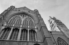 Καθεδρικός ναός της Μπρυζ, Βέλγιο Στοκ Φωτογραφία