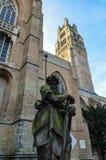 Καθεδρικός ναός της Μπρυζ, Βέλγιο Στοκ εικόνα με δικαίωμα ελεύθερης χρήσης