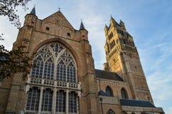 Καθεδρικός ναός της Μπρυζ, Βέλγιο Στοκ εικόνες με δικαίωμα ελεύθερης χρήσης
