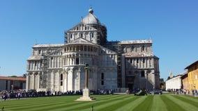 Καθεδρικός ναός της Πίζας στοκ εικόνα με δικαίωμα ελεύθερης χρήσης