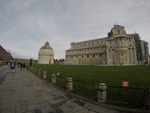 Καθεδρικός ναός της Πίζας, Piazza del Duomo, Ιταλία στοκ εικόνα με δικαίωμα ελεύθερης χρήσης