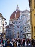 Καθεδρικός ναός της Σάντα Μαρία del Fiore στη Φλωρεντία στην πλατεία Duomo - μεγαλύτερη έλξη στην πόλη - ΦΛΩΡΕΝΤΙΑ/ΙΤΑΛΙΑ - Στοκ φωτογραφίες με δικαίωμα ελεύθερης χρήσης