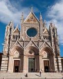 Καθεδρικός ναός της Σιένα, Τοσκάνη, Ιταλία Στοκ Εικόνα