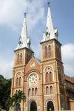 Καθεδρικός ναός της Notre Dame της πόλης Χο Τσι Μινχ Saigon Στοκ Εικόνες