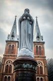 Καθεδρικός ναός της Notre Dame Saigon στοκ εικόνες με δικαίωμα ελεύθερης χρήσης