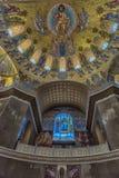 Καθεδρικός ναός του Άγιου Βασίλη, και πιο συγκεκριμένα ναυτικός καθεδρικός ναός Kronstadt στο όνομα του Άγιου Βασίλη το Wonderwor στοκ εικόνες με δικαίωμα ελεύθερης χρήσης