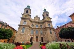 Καθεδρικός ναός του Ίνσμπρουκ Στοκ Εικόνα