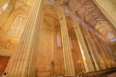 Καθεδρικός ναός του ανώτατου ορίου Batalha Στοκ φωτογραφίες με δικαίωμα ελεύθερης χρήσης
