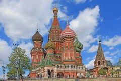 Καθεδρικός ναός του βασιλικού του ST στο κόκκινο τετράγωνο στη Μόσχα στοκ φωτογραφία με δικαίωμα ελεύθερης χρήσης