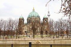 Καθεδρικός ναός του Βερολίνου (από το Βερολίνο DOM) Στοκ Φωτογραφίες