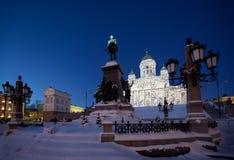 Καθεδρικός ναός του Ελσίνκι Στοκ Φωτογραφία