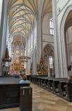 Καθεδρικός ναός του εσωτερικού του ST Elizabeth σε Kosice, Σλοβακία στοκ εικόνες